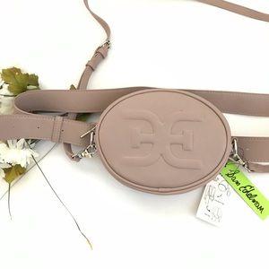 Mauve Sam Edelman Convertible shoulder/belt bag